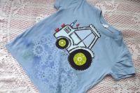 Nebesky modré tričko s traktorem 122 Adler
