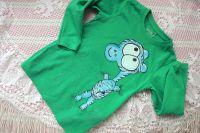 Zelené tričko s hrochem velikost 110