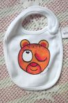 Mrkající medvě - ručně malovaný slintáček